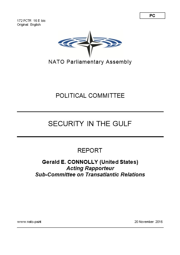 172 PCTR 16 E Bis - Security in the Gulf