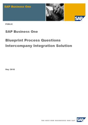 2.Blueprint Process Questions Intercompany Integration Solution