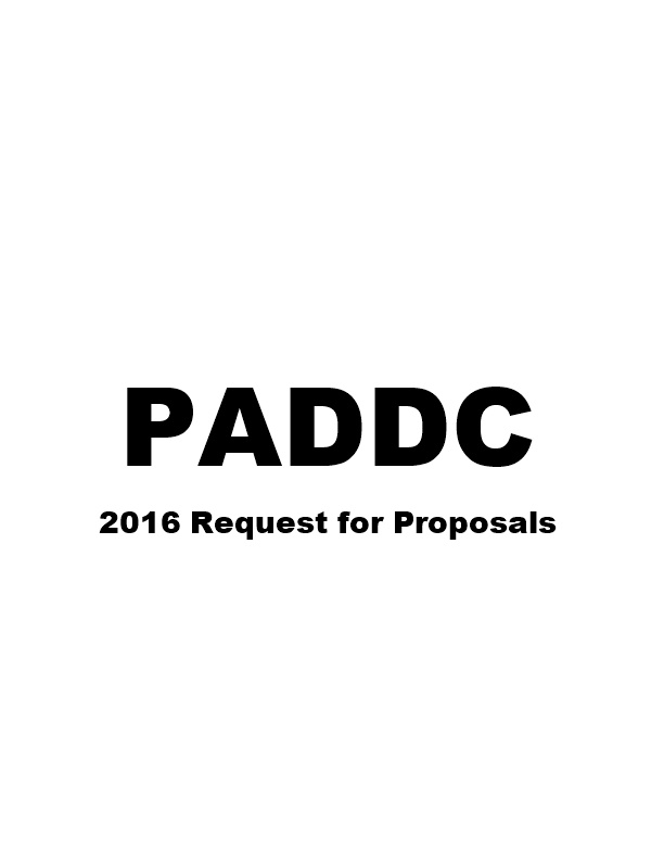 2016 Request for Proposals