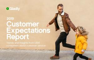 2019 Customer Expectations Report