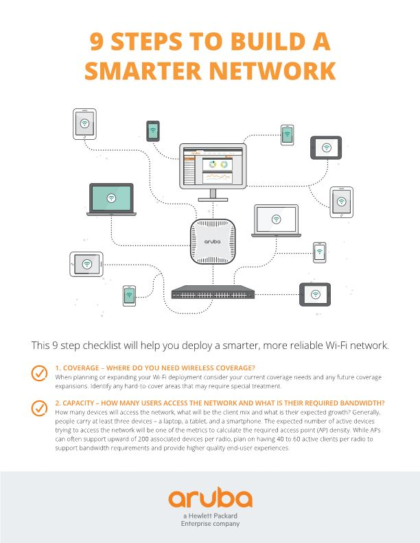 9 Steps to Build a Smarter Network