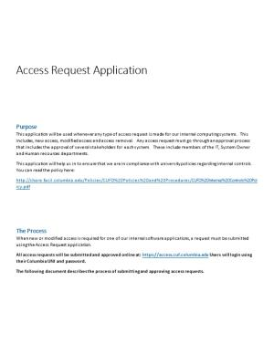 Access Request Application