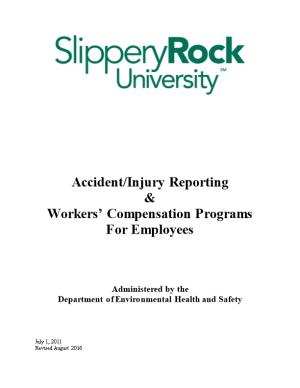 Accident/Injury Reporting