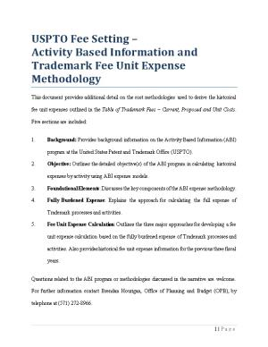 Activity Based Information And