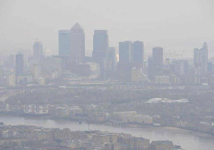 London is frequently hit by air pollution