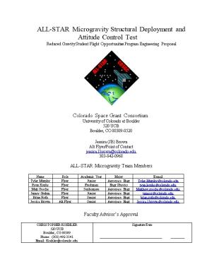 ALL-STAR Microgravity Structural Deployment and Attitude Control Test