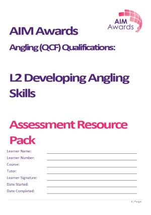 Angling (QCF) Qualifications
