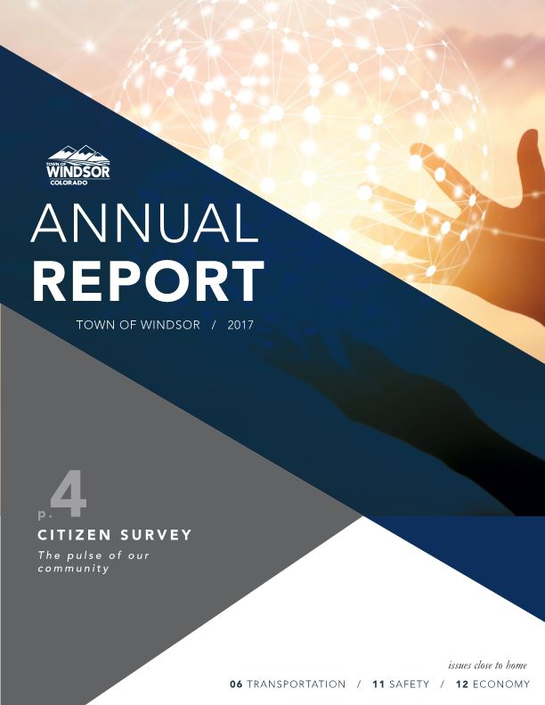 Annual Report Town of Windsor / 2017