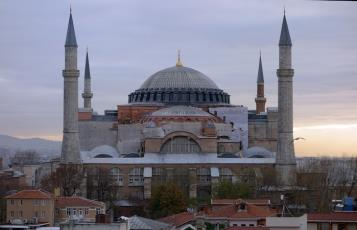 Isidore of Miletus amp Anthemius of Tralles for Emperor Justinian Hagia Sophia Istanbul 532 37 photo Steven Zucker CC BY NC SA 2 0