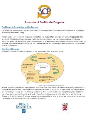 Assessment Certificate Flyer for T&L Conference.Ai