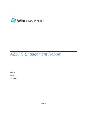 AZDPS Engagement Completion Report