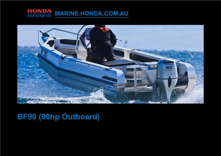 BF90 (90Hp Outboard) 2010