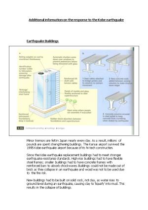 Can We Manage the Impact of Earthquakes