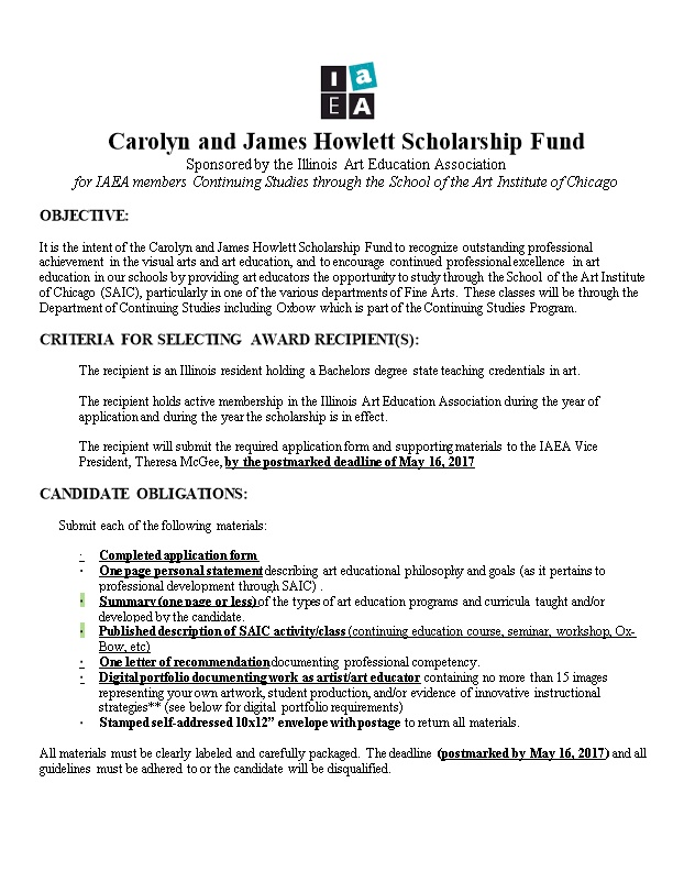 Carolyn and James Howlett Scholarship Fund