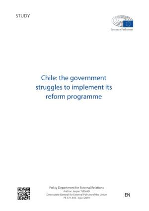 Chile: the Government Struggles to Implement Its Reform Programme