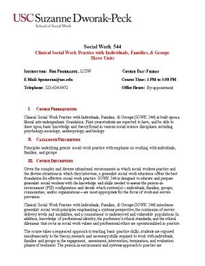 Clinical Social Work Practice with Individuals, Families, & Groups