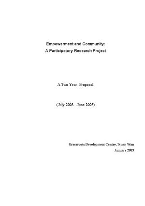 Community-Based Labour Right Project