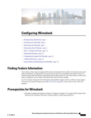 Configuring Wireshark User's Guide