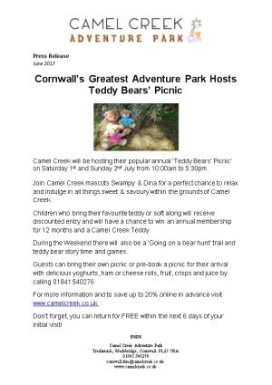 Cornwall S Greatest Adventure Park Hosts