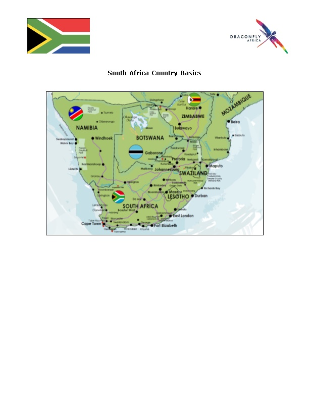 Countries Subject to South African Visa Fees