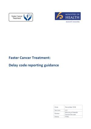 Delay Code Reporting Guidance