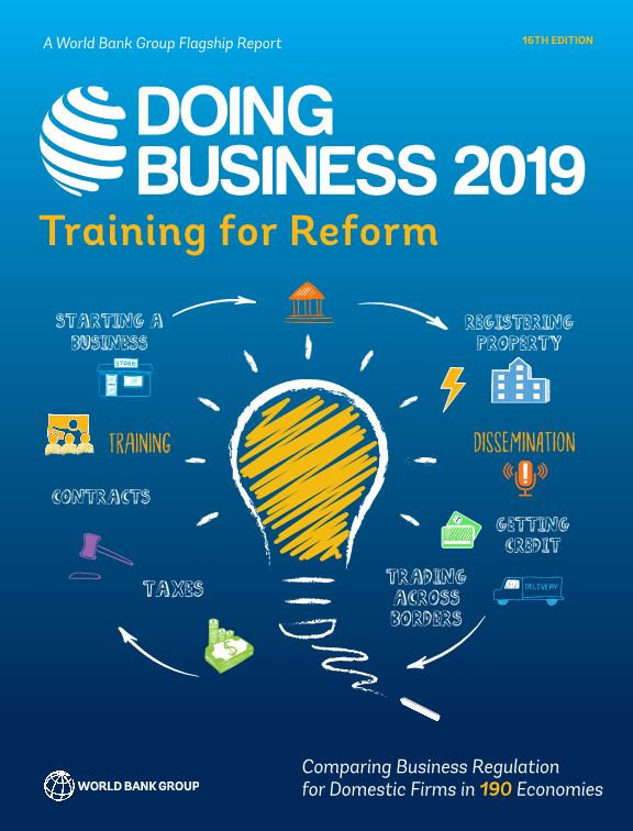 Doing Business 2019 Training for Reform