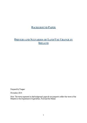 Drivers and Scenarios of Land Use Change in Ireland