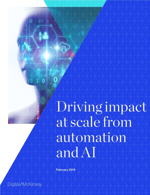 Driving Impact at Scale from Automation and AI