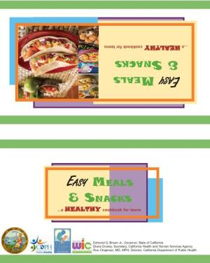 Easy Meals & Snacks