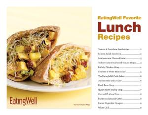Eatingwell Favorite Lunch Recipes
