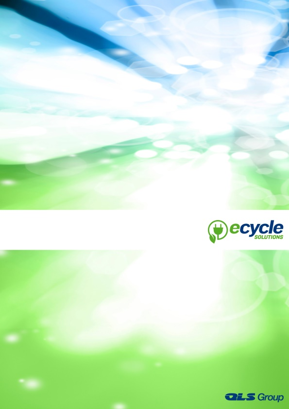 Ecycle Solutions Pty Ltd Annual Report 2013