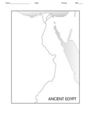 Egyptian Map Puzzle