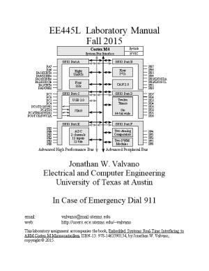 Embedded Microcomputer Systems: EE445L Lab Manualpage 1