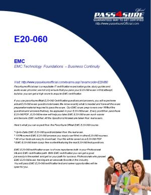 EMC Technology Foundations Business Continuity