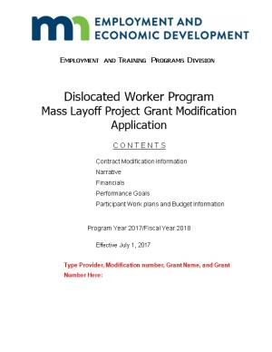 Employment and Training Programs Division