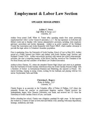 Employment & Labor Law Section