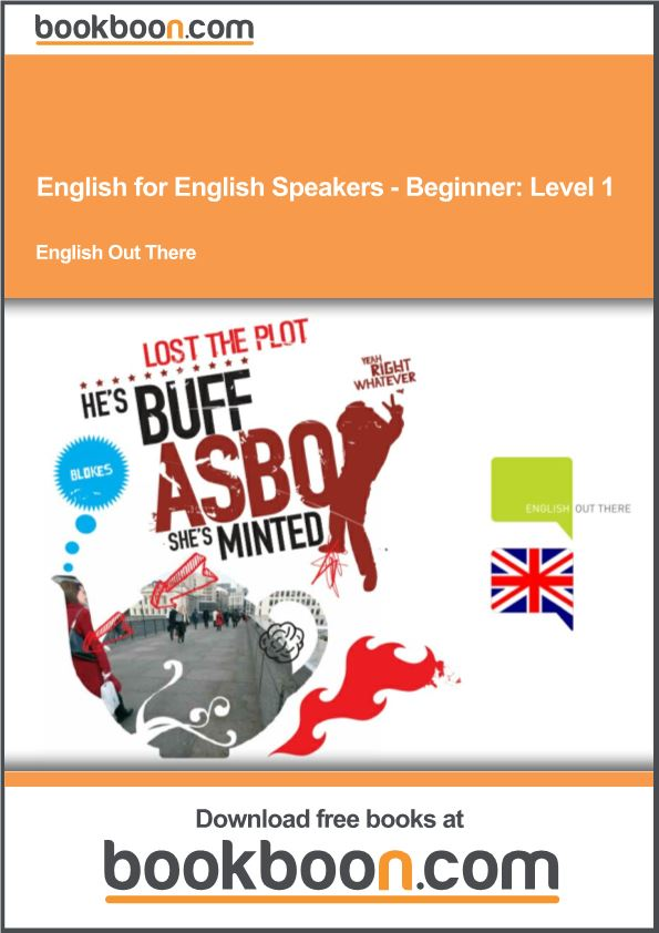English for English Speakers-Beginner