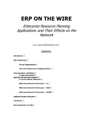 Erp on the Wire