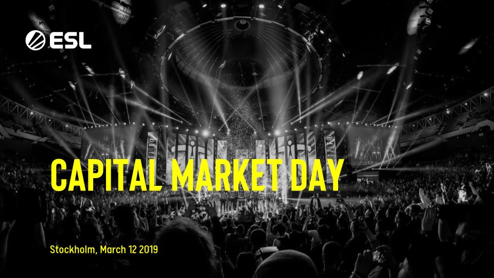 ESL Capital Market Day