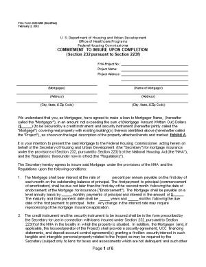FHA Form 2453-MM (Modified)