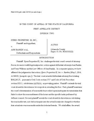 Filed 5/5/14; Pub. Order 5/27/14 (See End of Opn.)