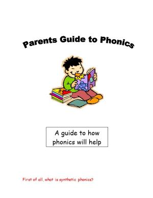 First of All, What Is Synthetic Phonics?