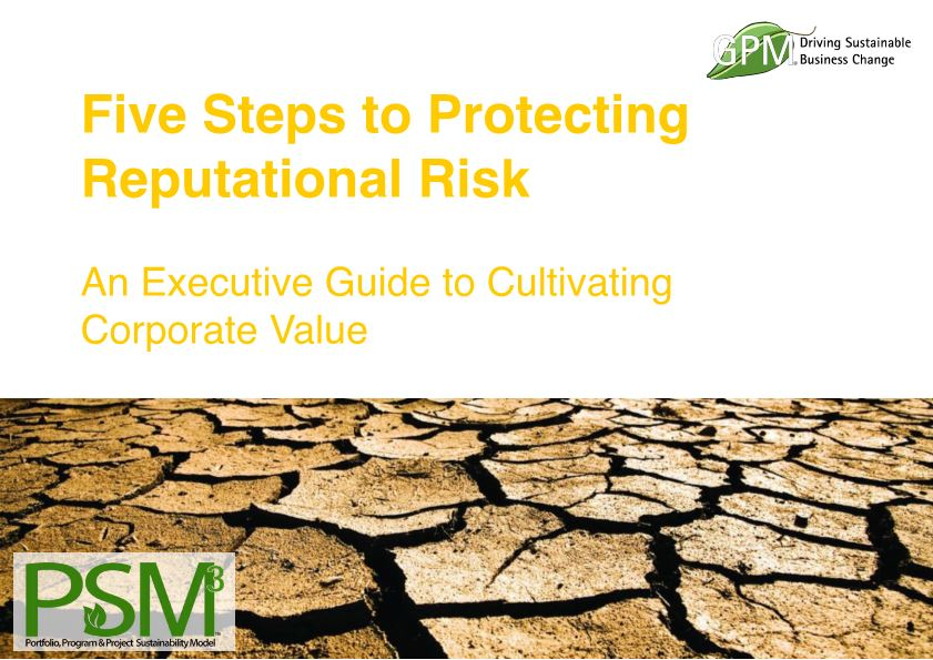 Five Steps to Protecting Reputational Risks