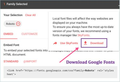 Download Google Fonts png