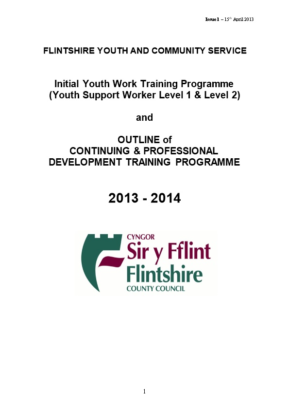 Flintshire Youth and Community Service