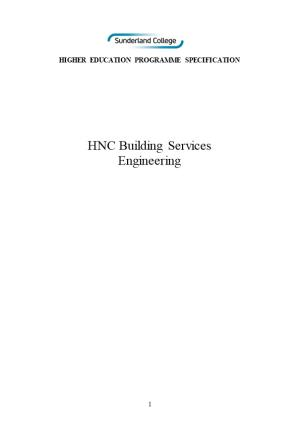 HNC Building Services