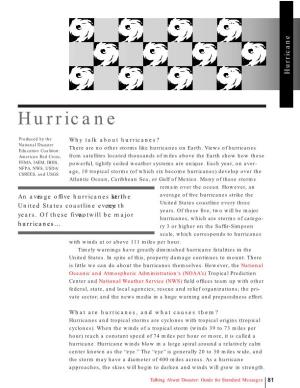 Hurricane Description and Cause Reasons