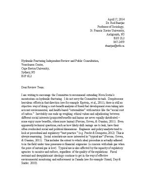 Hydraulic Fracturing Independent Review and Public Consultation