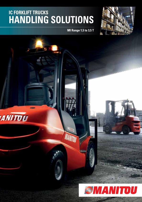 IC Forklift Trucks HANDLING SOLUTIONS