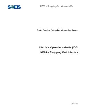 IM389 IOG - Shopping Cart Interface V2